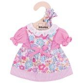 Pink Floral Dress (for 28cm Doll)