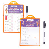 Key Stage 1 Secret Scholar Pack - Mental Math 1 and Write & Spell
