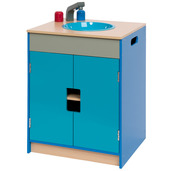 Turquoise and Blue Sink