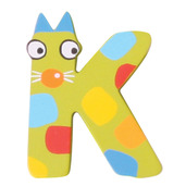 Crazy Animals Letter K (One Supplied - Designs Vary)