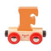 Rail Name Letter F (Orange)