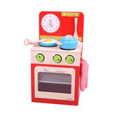 Oven and Stove Set (Red)