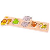 Chunky Lift and Match Safari Puzzle
