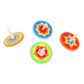 Snazzy Spinning Tops (Pack of 4)