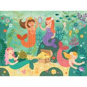 Mermaid Friends Floor Puzzle