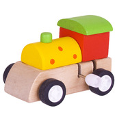 Clockwork Train (Yellow with Red Spots)
