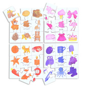 Colours Puzzles Set 2 (Set of 4)