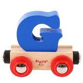 Rail Name Letter G (Dark Blue)