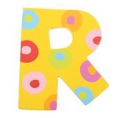 Spots & Stripes Letter R (Spots)
