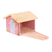 Pink Double Engine Shed