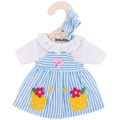 Blue Striped Dress (for 28cm Doll)
