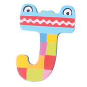 Crazy Animals Letter J (One Supplied - Designs Vary)