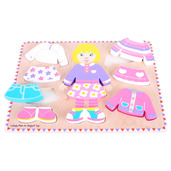 Dressing Girl Puzzle