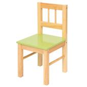 Wooden Chair (Pastel Green)