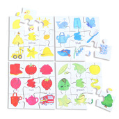 Colours Puzzles Set 1 (Set of 4)