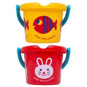 Wildlife Bucket (Pack of 2 - Fish and Rabbit)