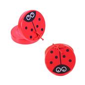 Animal Castanets (One Pair - Ladybird)