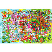 Fantasyland Floor Puzzle (48 Piece)