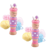 French Knitting Doll (Pack of 2)