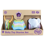 Baby Toy Starter Set (First Keys Stacking Cups & Elephant)