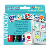 Window One 10g (Pack of 6 - Assorted Colours)