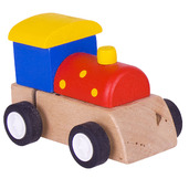 Clockwork Train (Red with Yellow Spots)