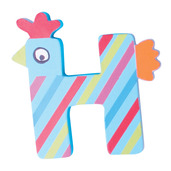 Crazy Animals Letter H (One Supplied - Designs Vary)