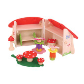 Mini Mushroom House Playset
