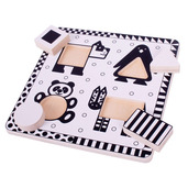 Animals Black and White Puzzle