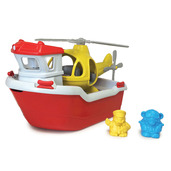 Rescue Boat with Helicopter