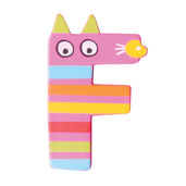 Crazy Animals Letter F (One Supplied - Designs Vary)