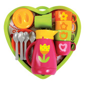 Heart Coffee Service (Pink)