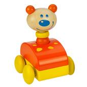 Squeaky Animal Car (Bear)