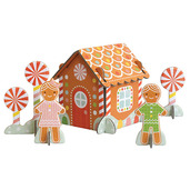 Gingerbread House Pop-Out