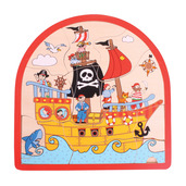 Pirate Arched Puzzle