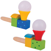 Puffing Trains (Pack of 2 - Red/Yellow Funnel)