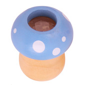 Toadstool Kaleidoscope (Blue)