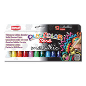 Metallic One 10g (Pack of 12 - Assorted Colours)