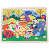 Picnic in the Park Tray Puzzle (35 Pieces)