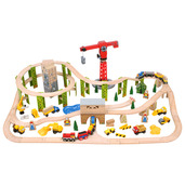 Construction Train Set