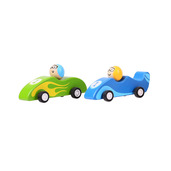 Pull Back Racing Car (Pack of 2 - Green and Blue)
