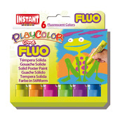 Fluo One 10g (Pack of 6 - Assorted Fluorescent Colours)