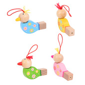 Wooden Bird Whistles (Pack of 4)