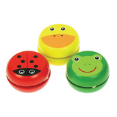 Animal Yo-Yo's (Pack of 3)