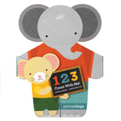 1-2-3 Count With Me Board Book