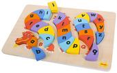 Alphabet Dragon Puzzle