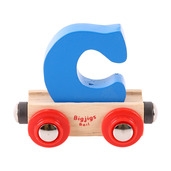 Rail Name Letter C (Blue)