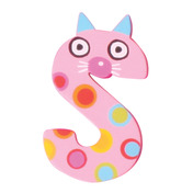 Crazy Animals Letter S (One Supplied - Designs Vary)