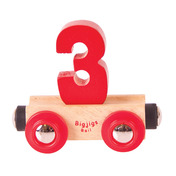 Rail Name Number 3 (Colors Vary)
