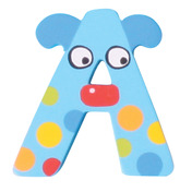 Crazy Animals Letter A (One Supplied - Designs Vary)